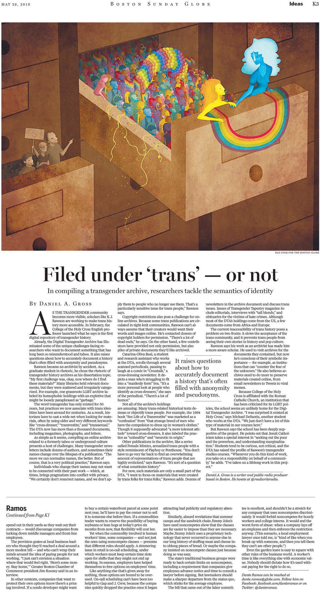 "Boston Globe ""Filed Under Trans"""