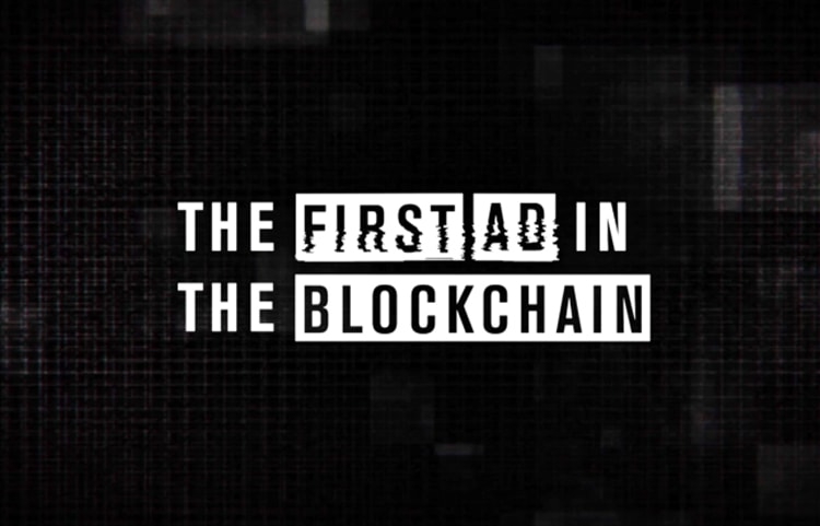 "TD AMERITRADE - ""The First Ad In The Blockchain"""