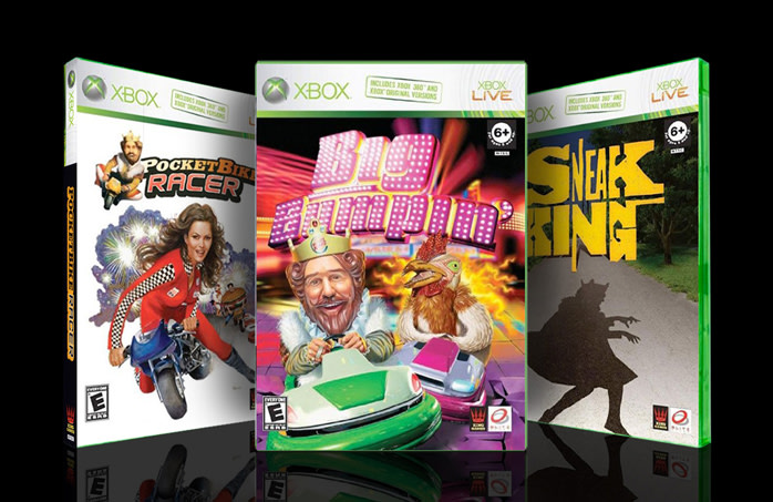 "BURGER KING - ""XBOX Games"""