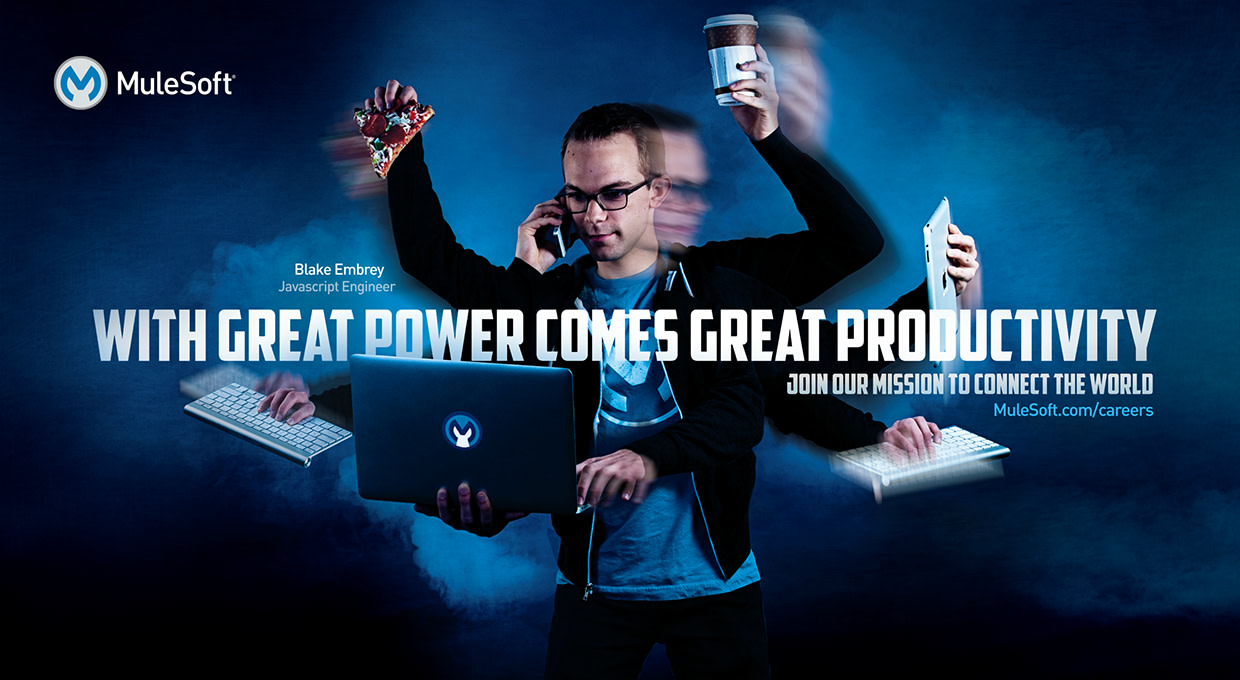 """MuleSoft """"Superheroes"""" outdoor recruitment campaign"""