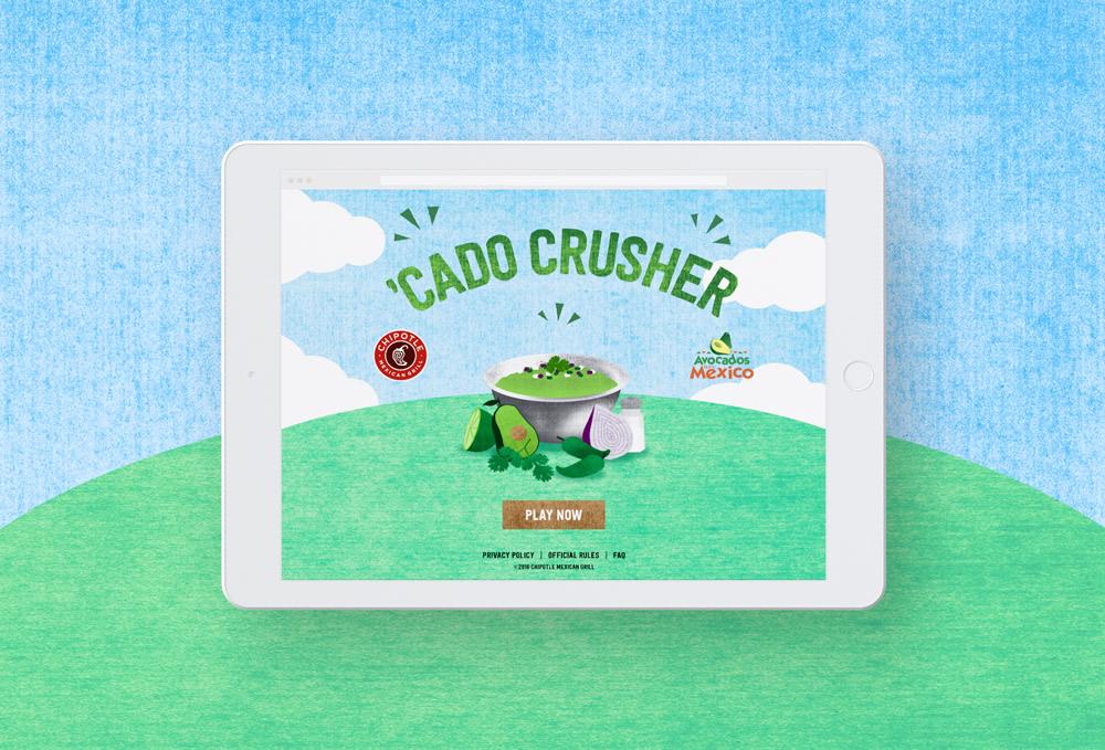 'Cado Crusher – Responsive Web Game