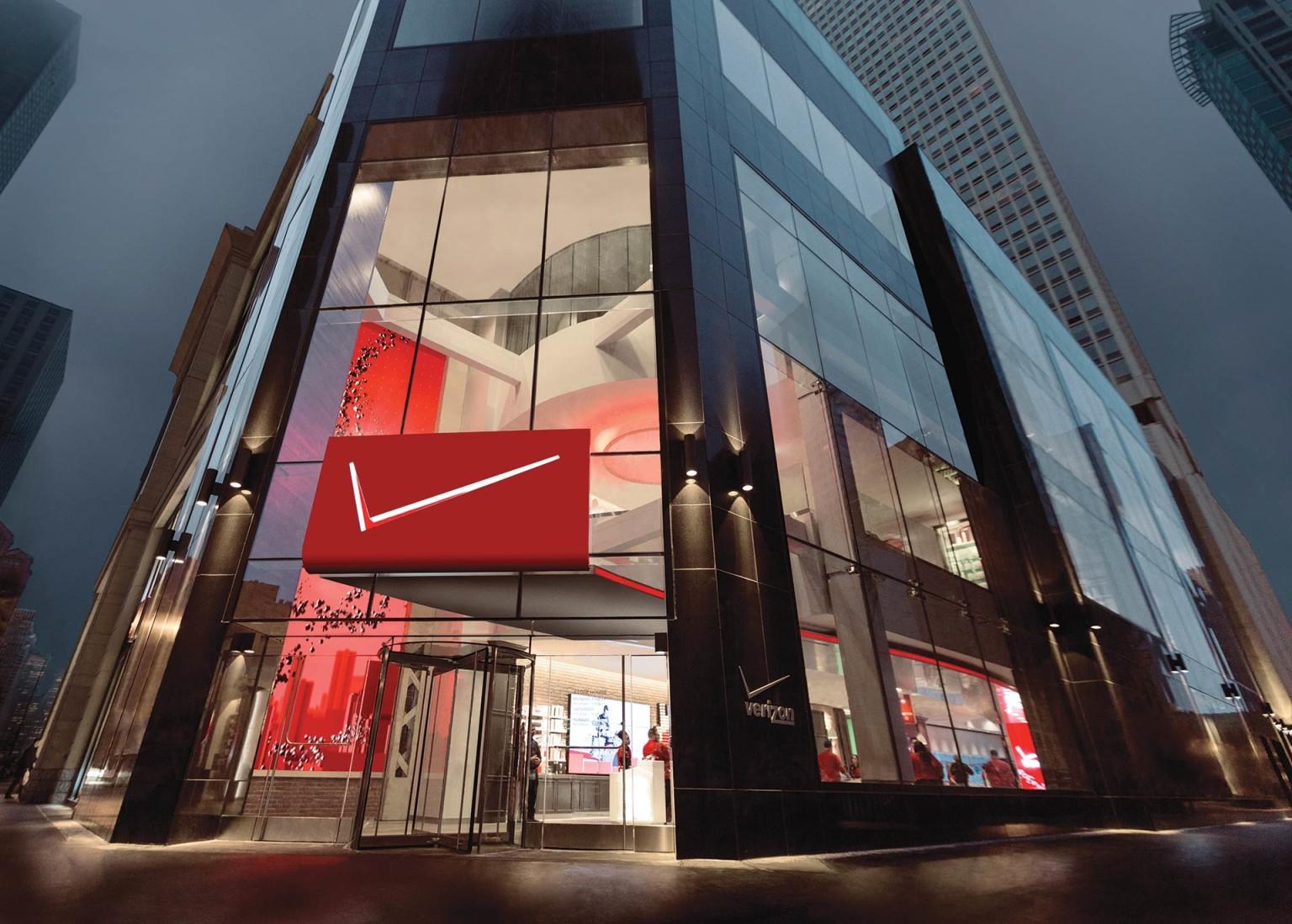 Verizon Destination Store – Retail Design