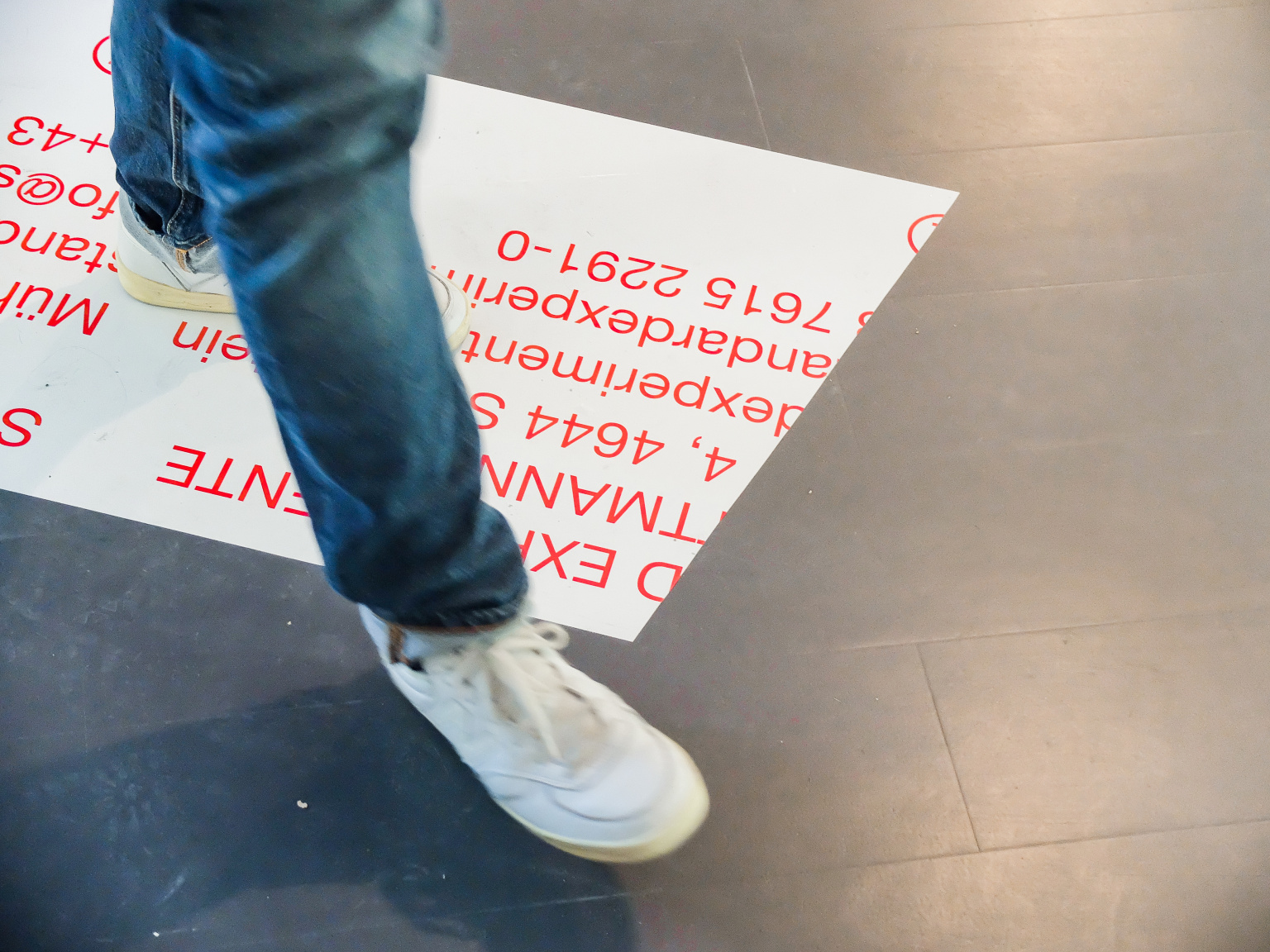 STANDARD EXPERIMENTE at Vienna Design Week (Identity and Exhibition Space)