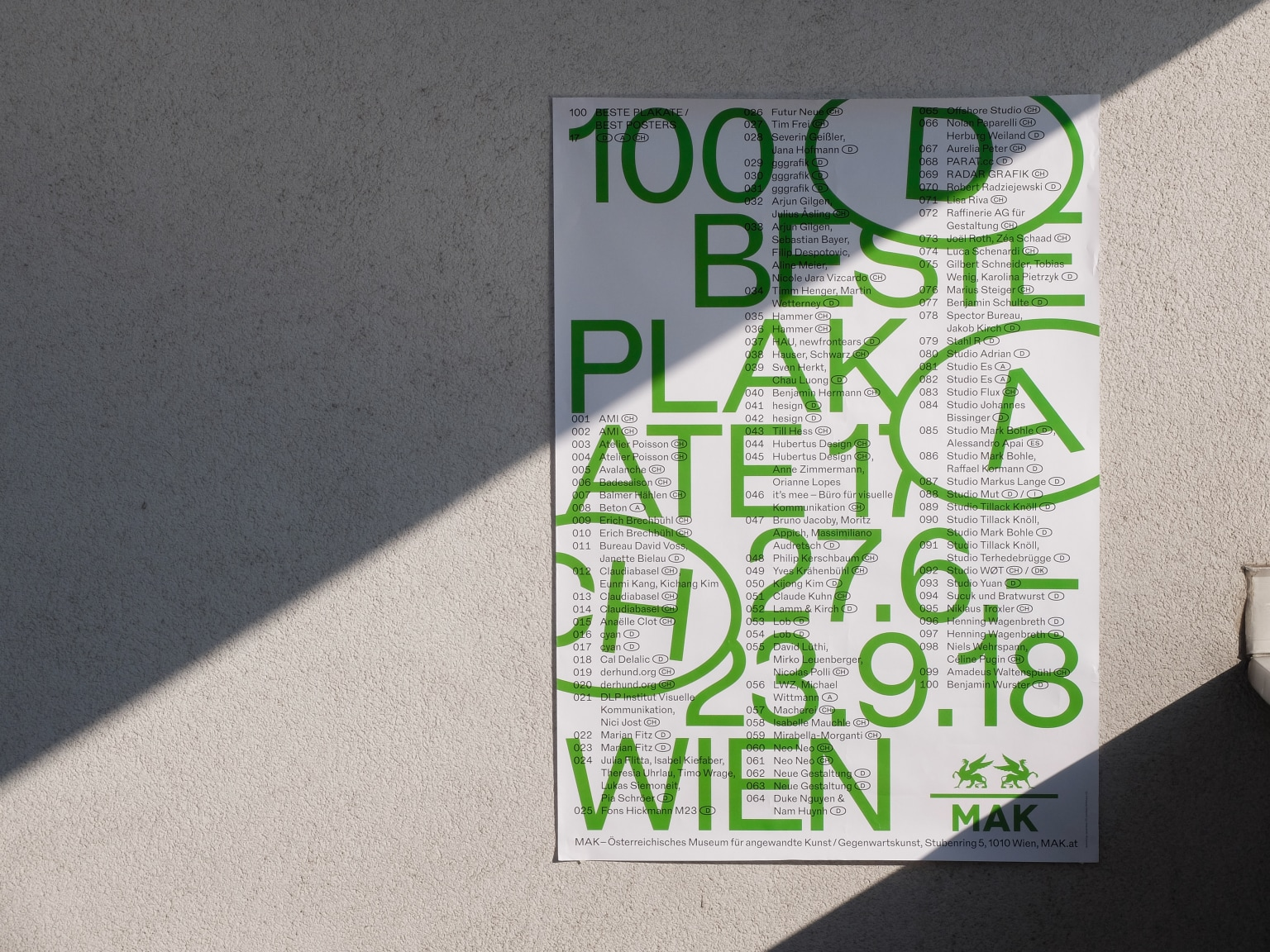 100 best Posters 17 Visual Identity