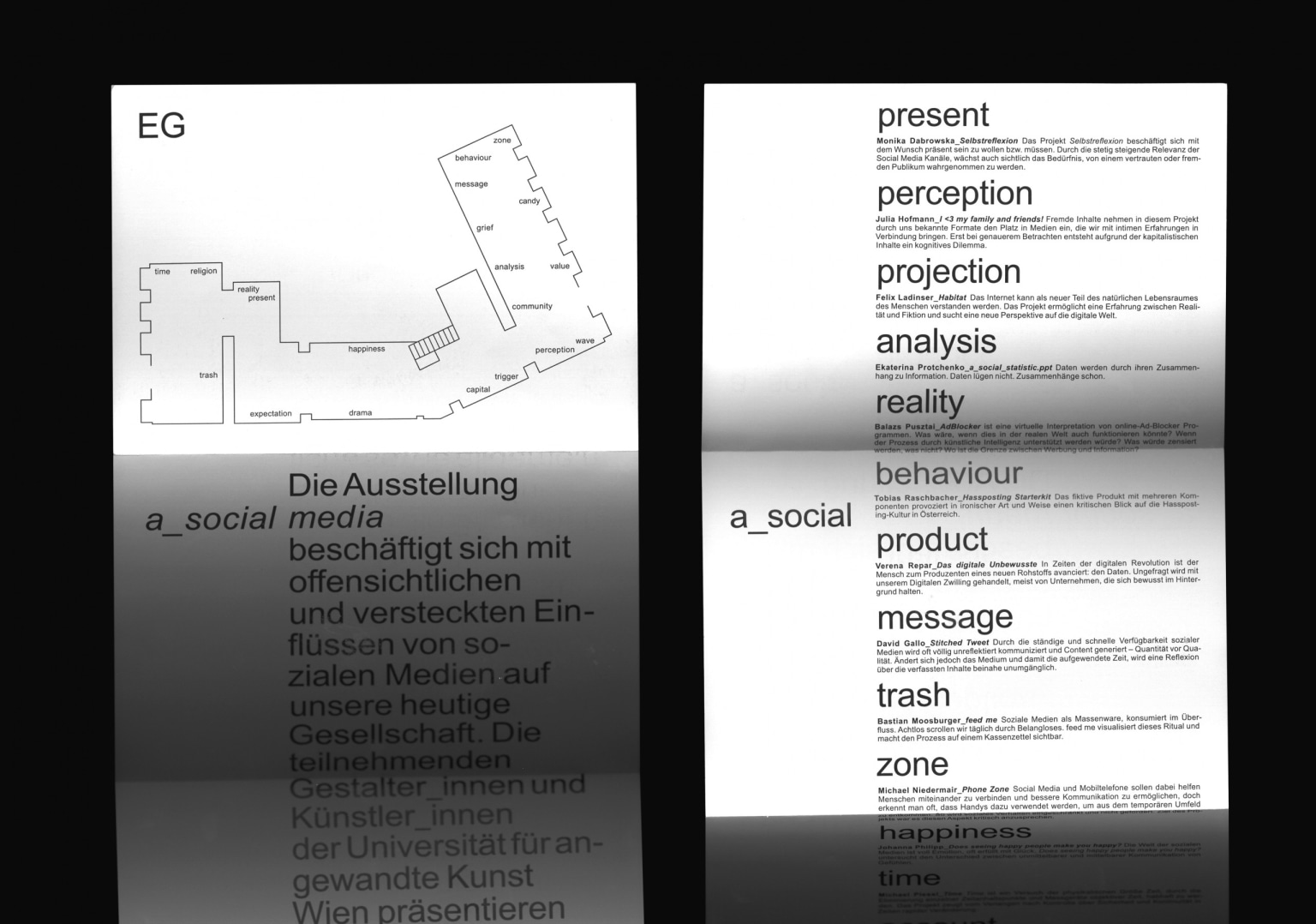 a_social media (Exhibition Design)