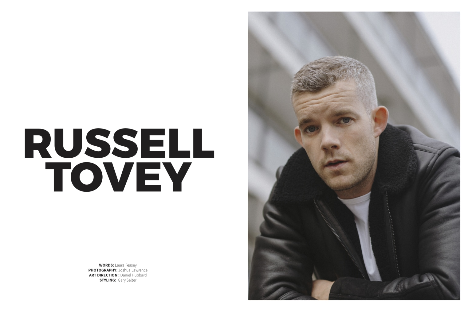 Interview with Russell Tovey