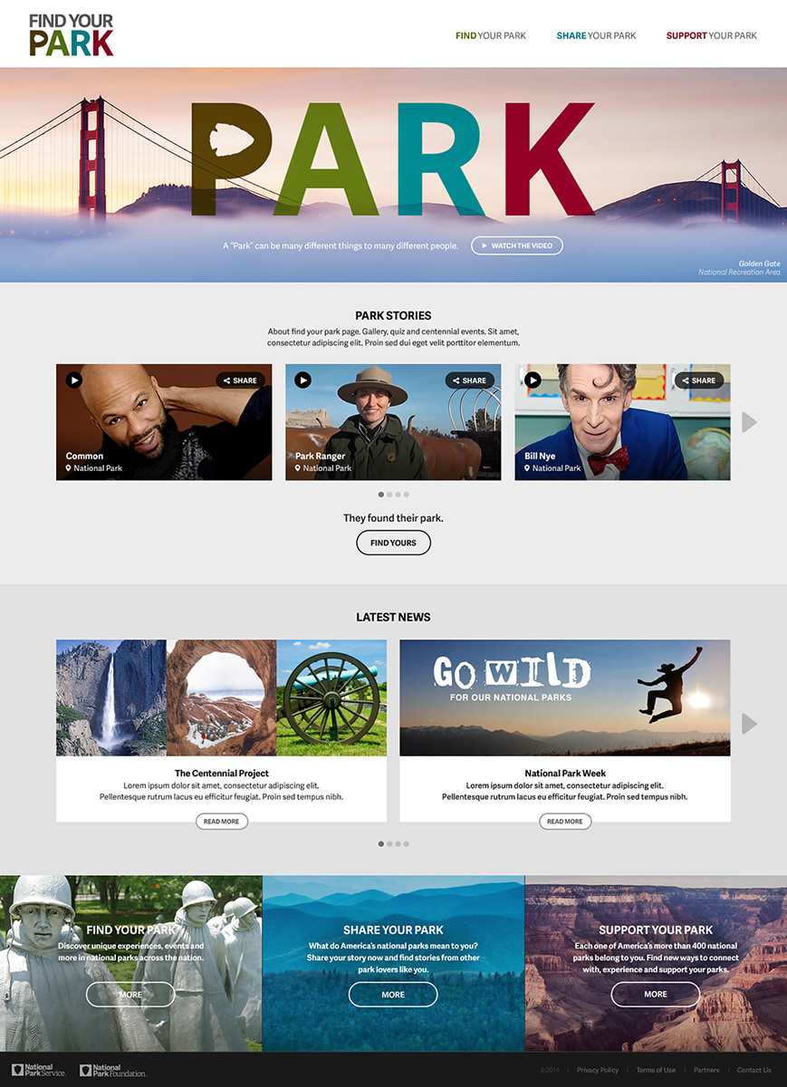 """""""Find Your Park"""""""