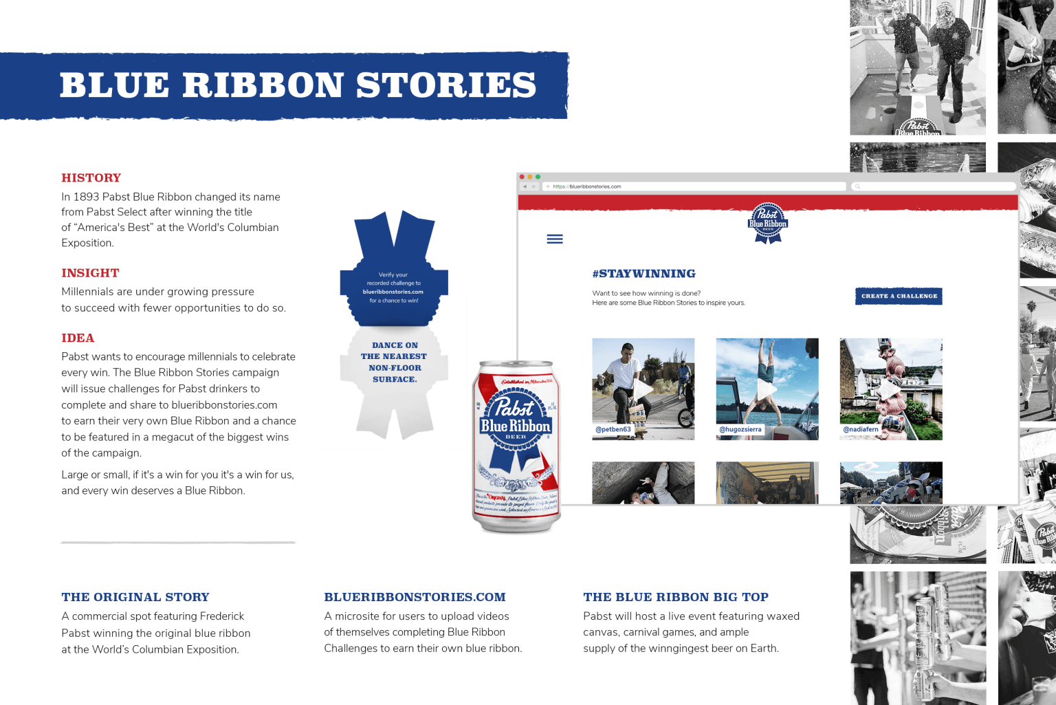 PBR: Blue Ribbon Stories