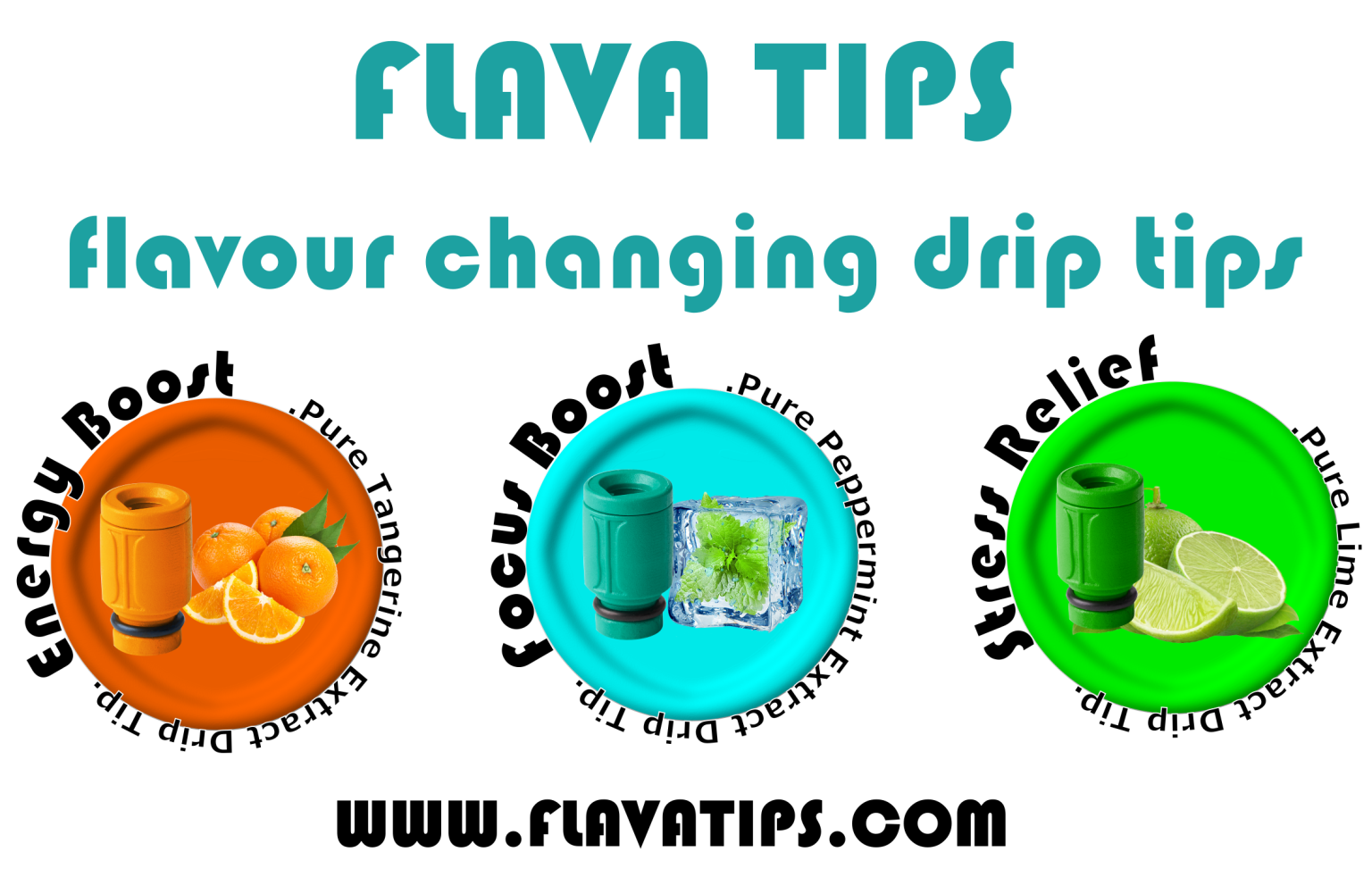 Flava Tips (Flavour Changing Drip Tips)