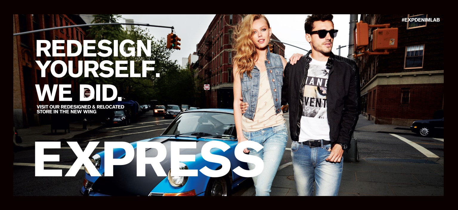Redesign Campaign for Express