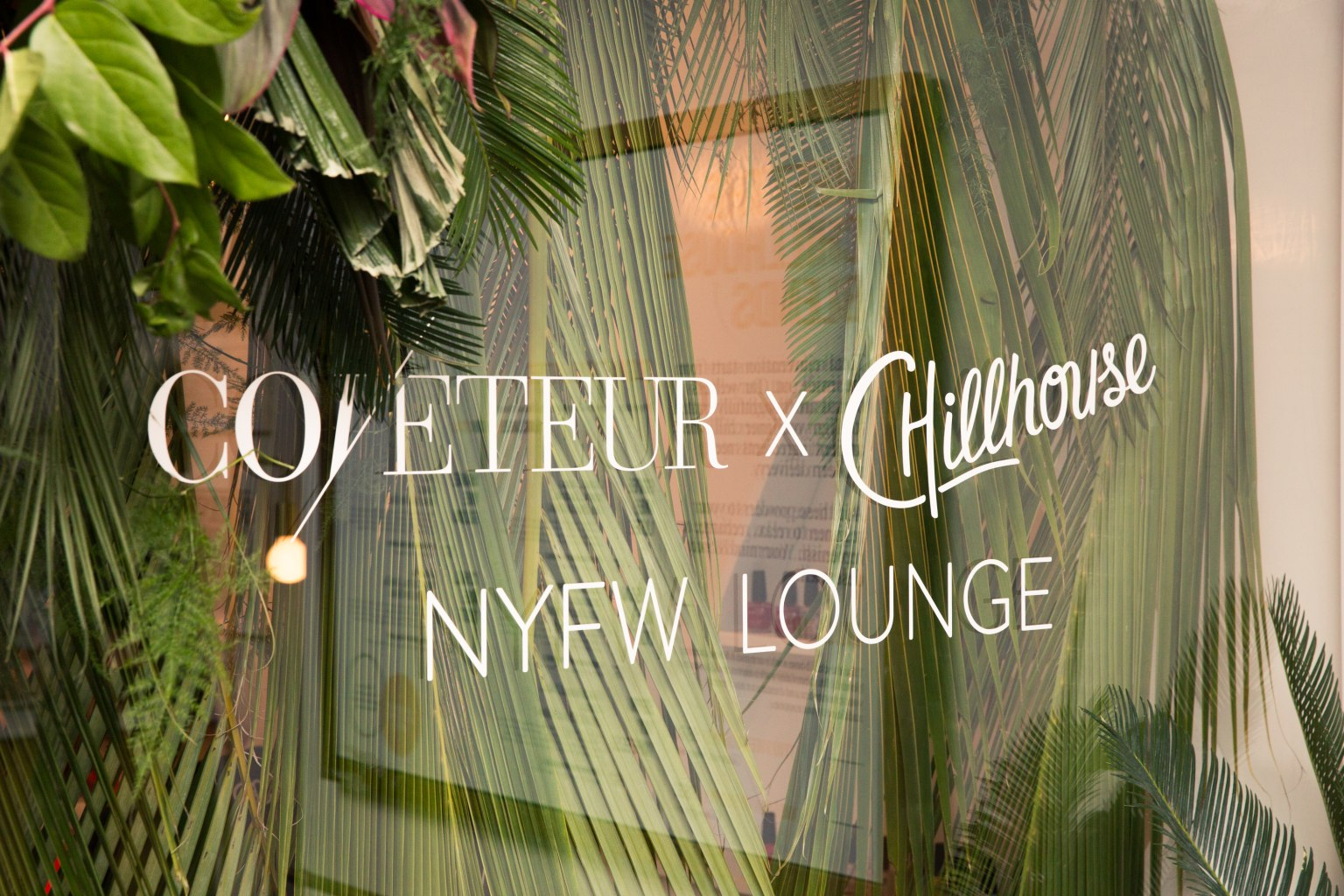Chillhouse Branded NYFW Events