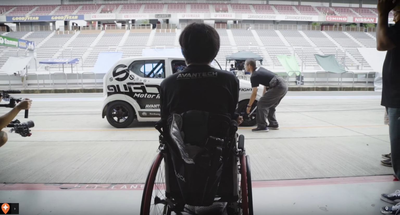 Tokyo by Wheelchair: How a Race Car Driver Adapted to a New Life