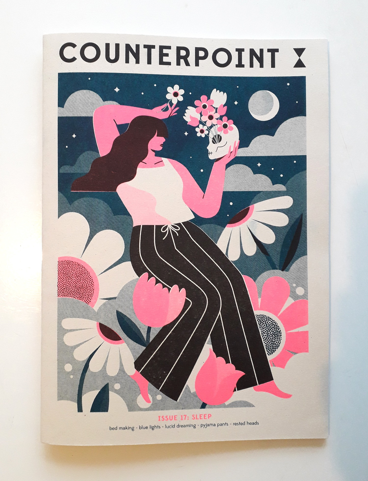 Counterpoint magazine - Sleep issue, cover
