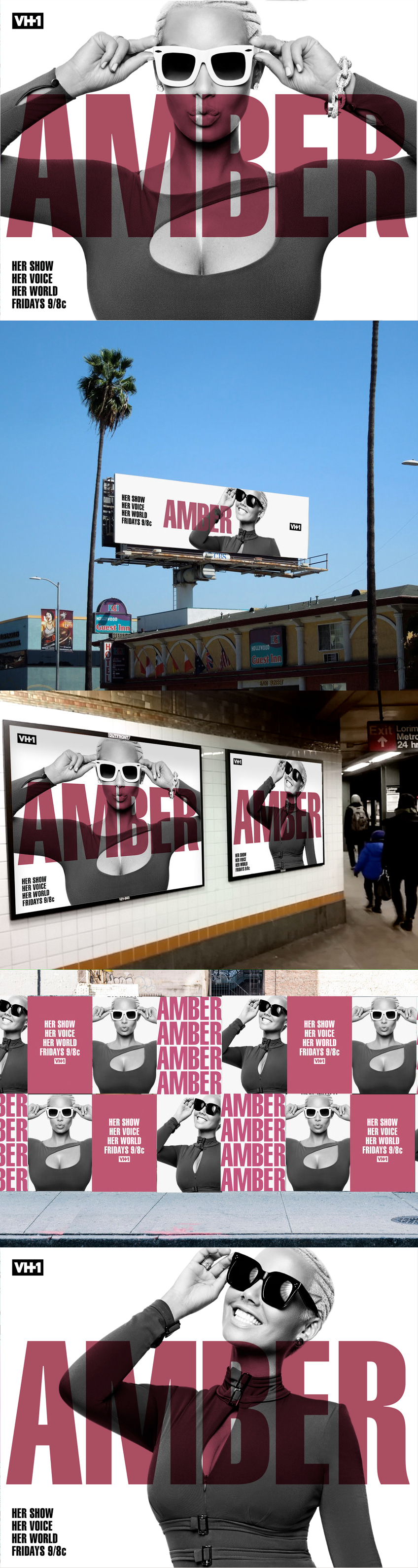 Amber Rose Show —Season 1 Out Of Home Advertising