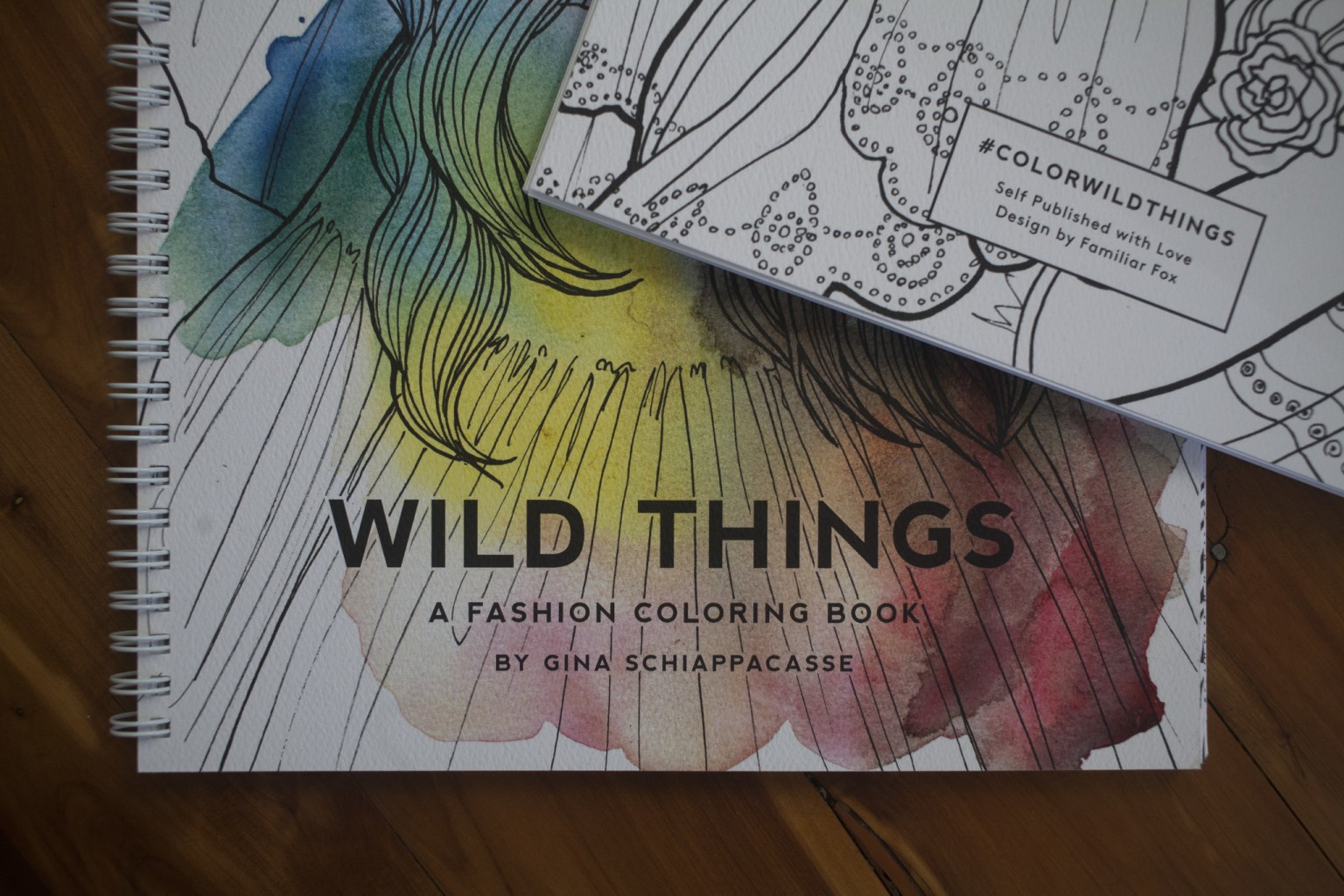 Wild Things Coloring Book