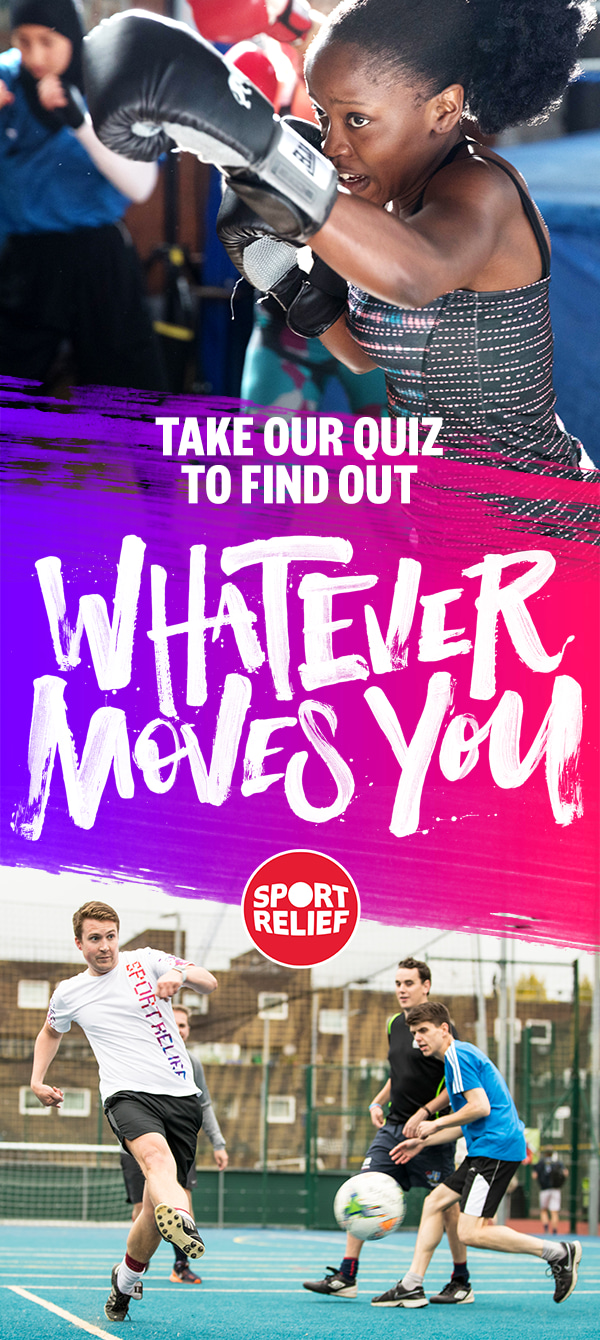 Sports Relief Awareness and Engagement Campaign