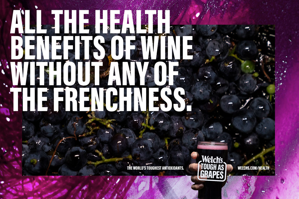 Welch's - Tough As Grapes