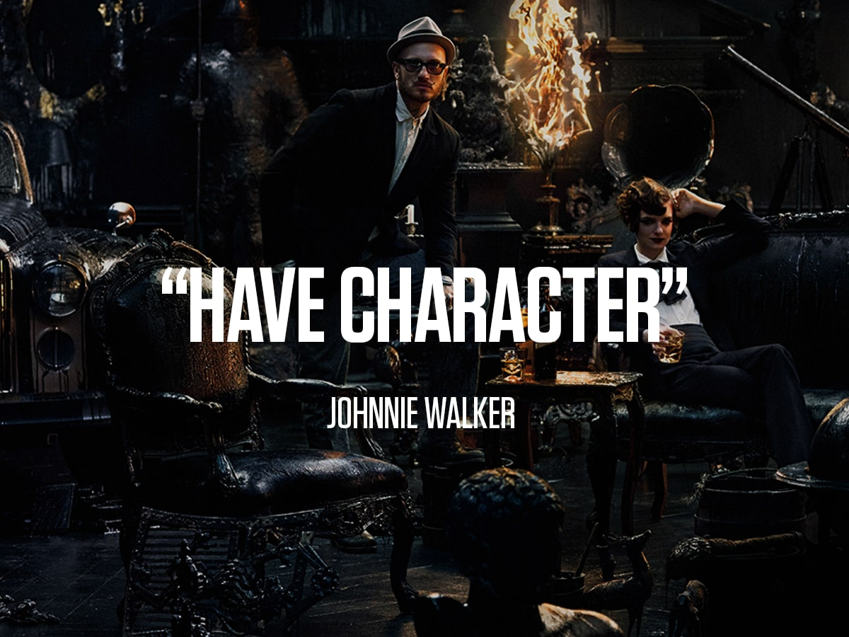"Johnnie Walker ""Have Character"""