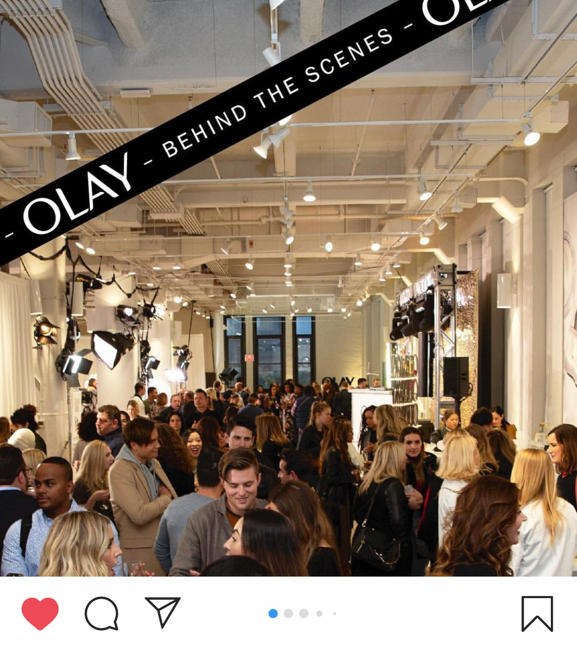 Olay #FaceAnything Experiential Launch Event