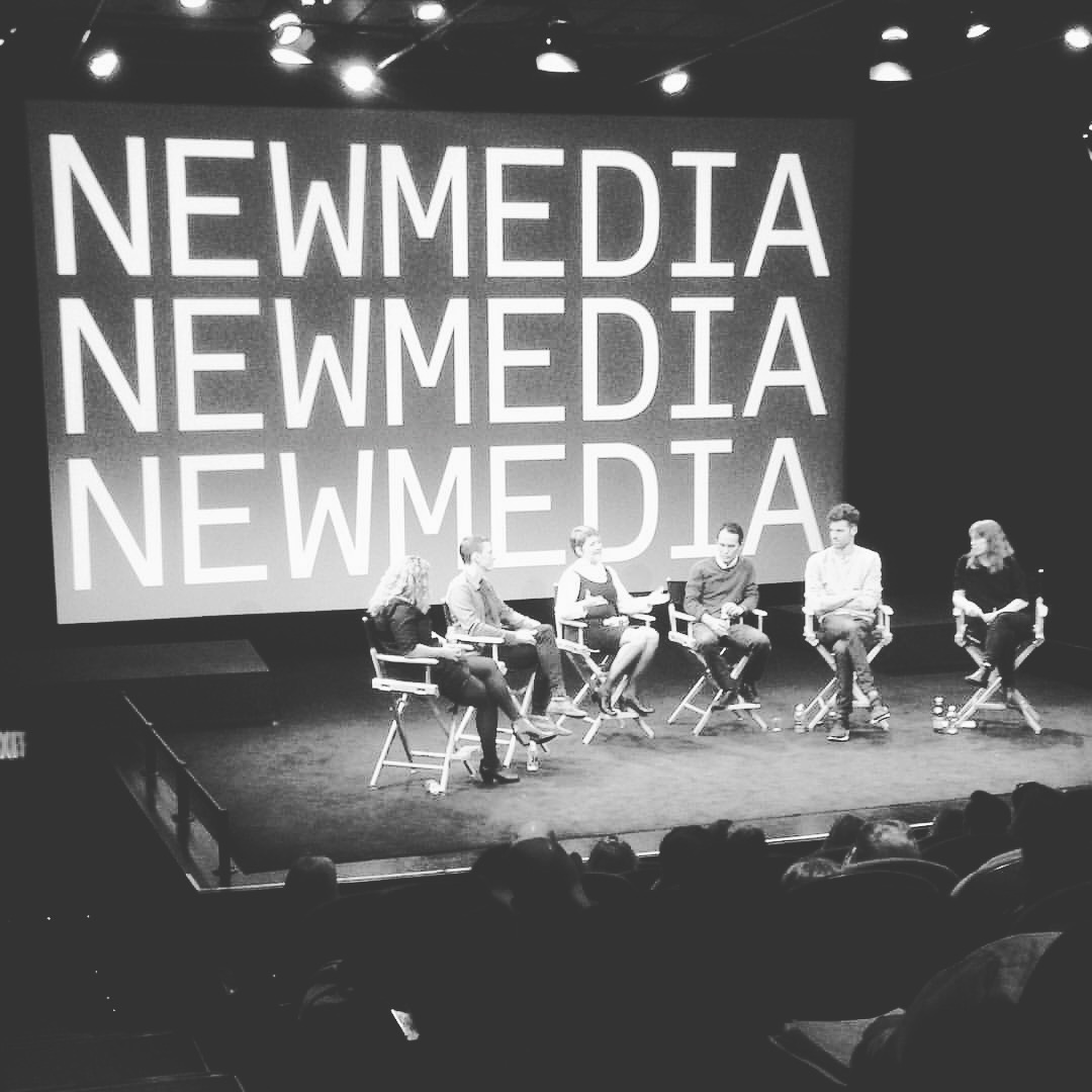 Designed, Produced, Moderated Talk on New Media