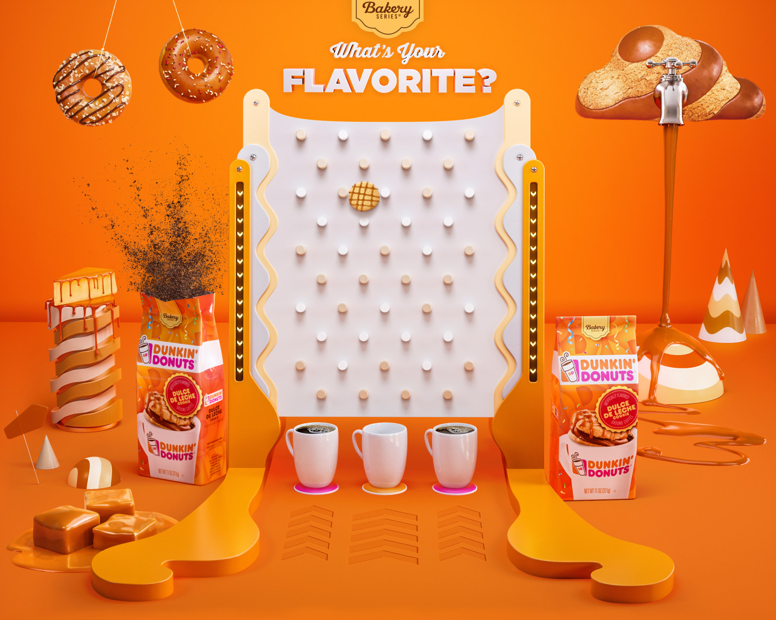Dunkin Donuts Flavorites Competition