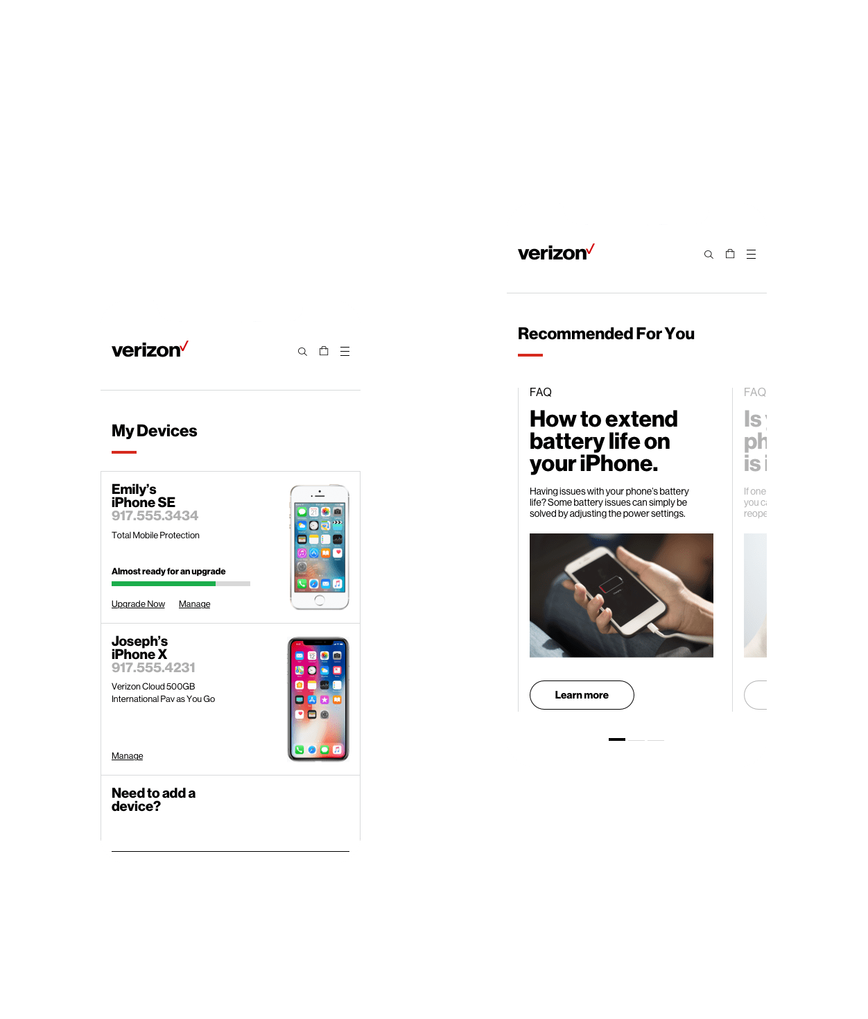 My Verizon Wireless — AKQA