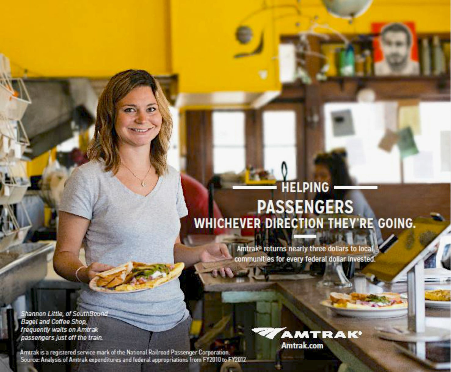 Amtrak Connecting People