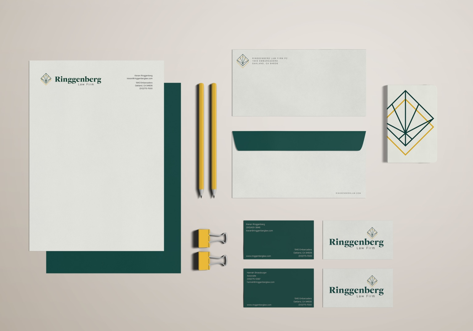 Ringgenberg Law Firm Rebrand