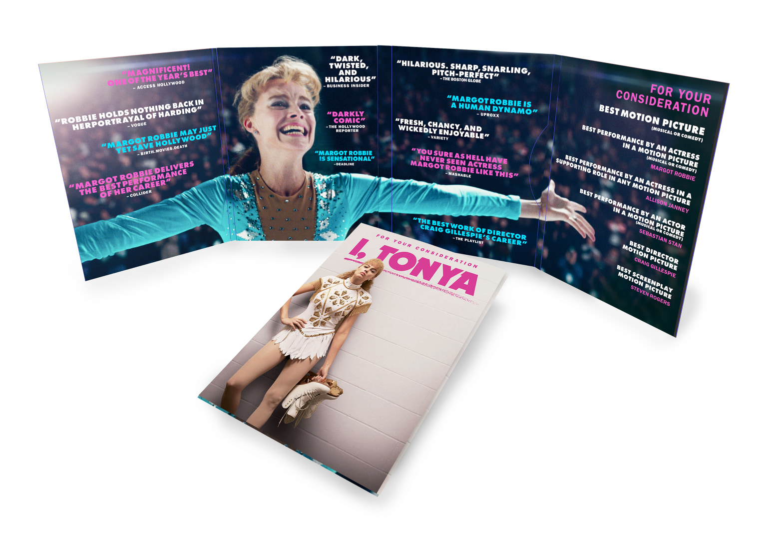 iTonya Advertising and Screener Packaging