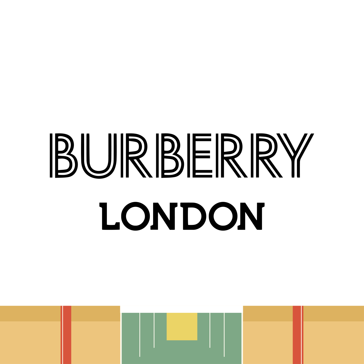 BURBERRY logo unofficial redesign