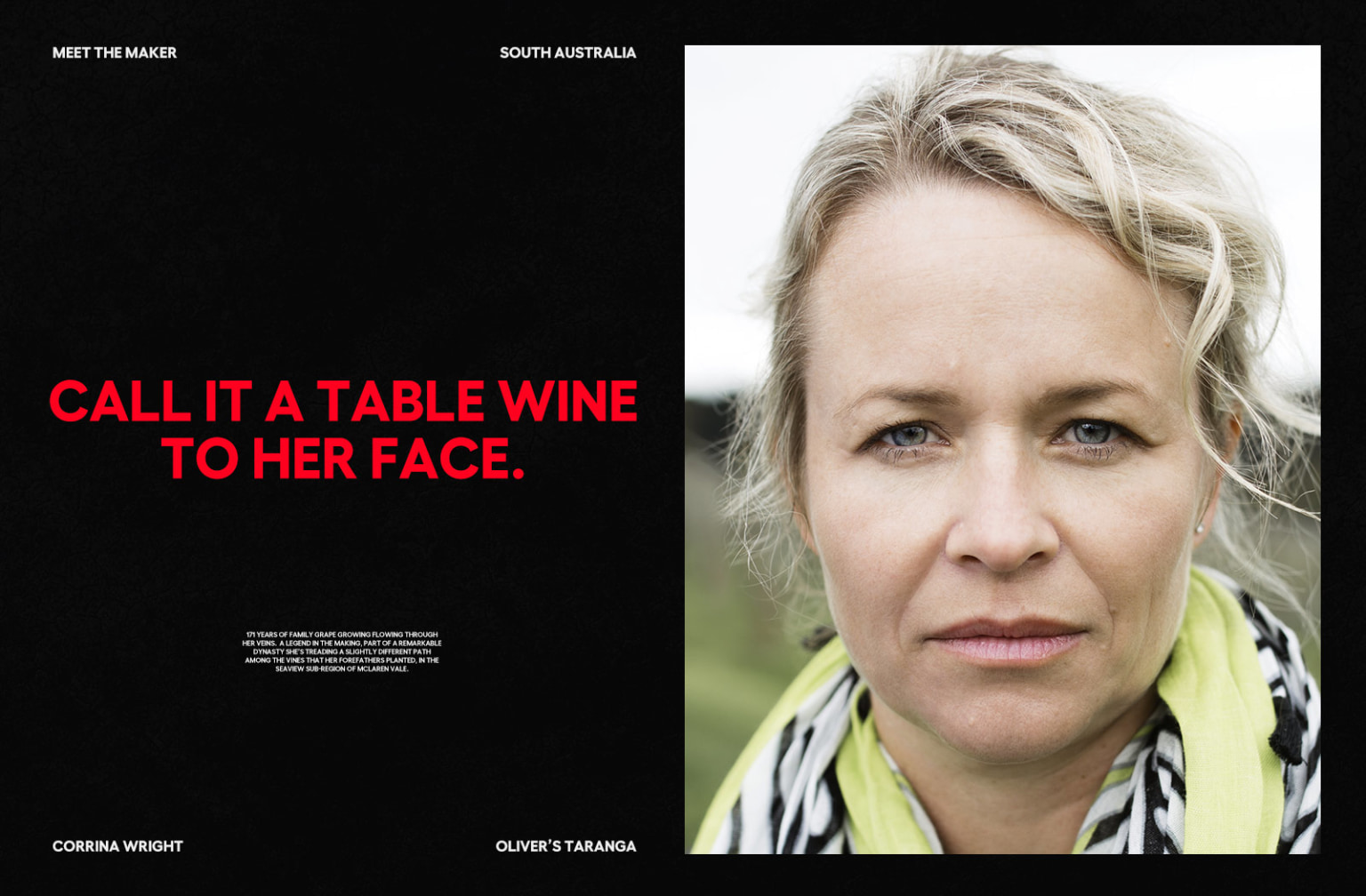Wine Australia - 'Made Our Way'