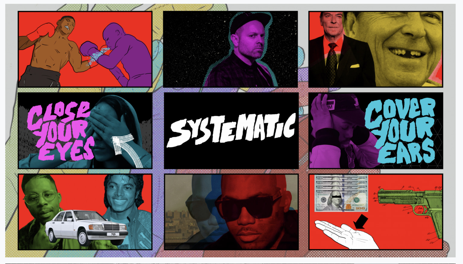 DJ Shadow feat Nas 'Systematic' (lyric video)