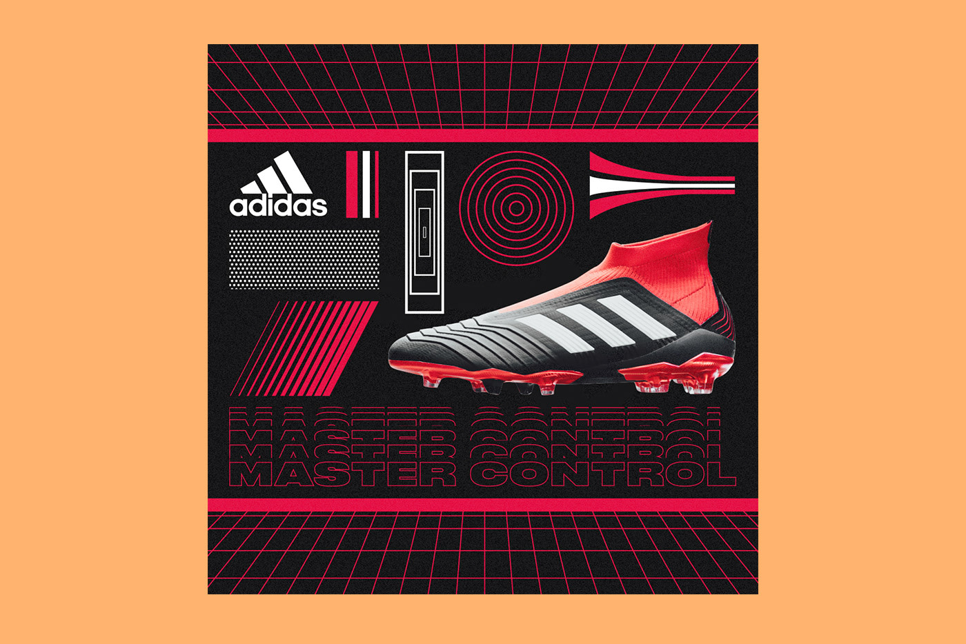 Adidas: Graphic Design, Illustration and advertising