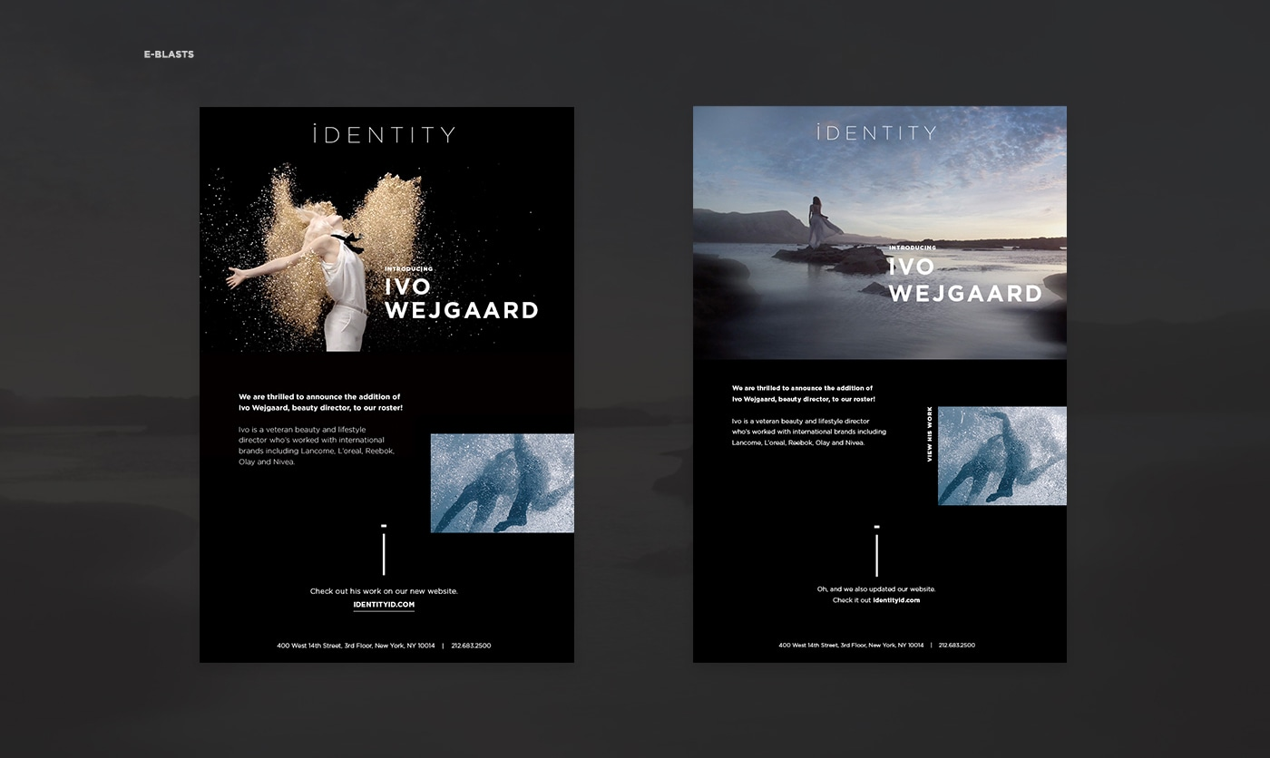 IDENTITY Brand update + Website