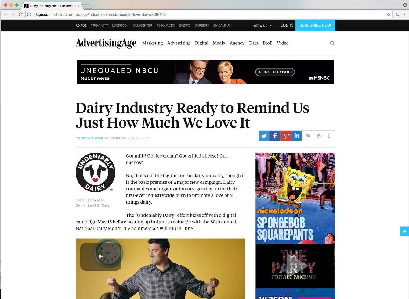 Dairy Management, Inc - Undeniably Dairy
