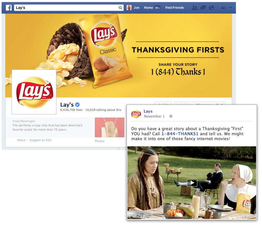 Lay's Chips - Thanksgiving