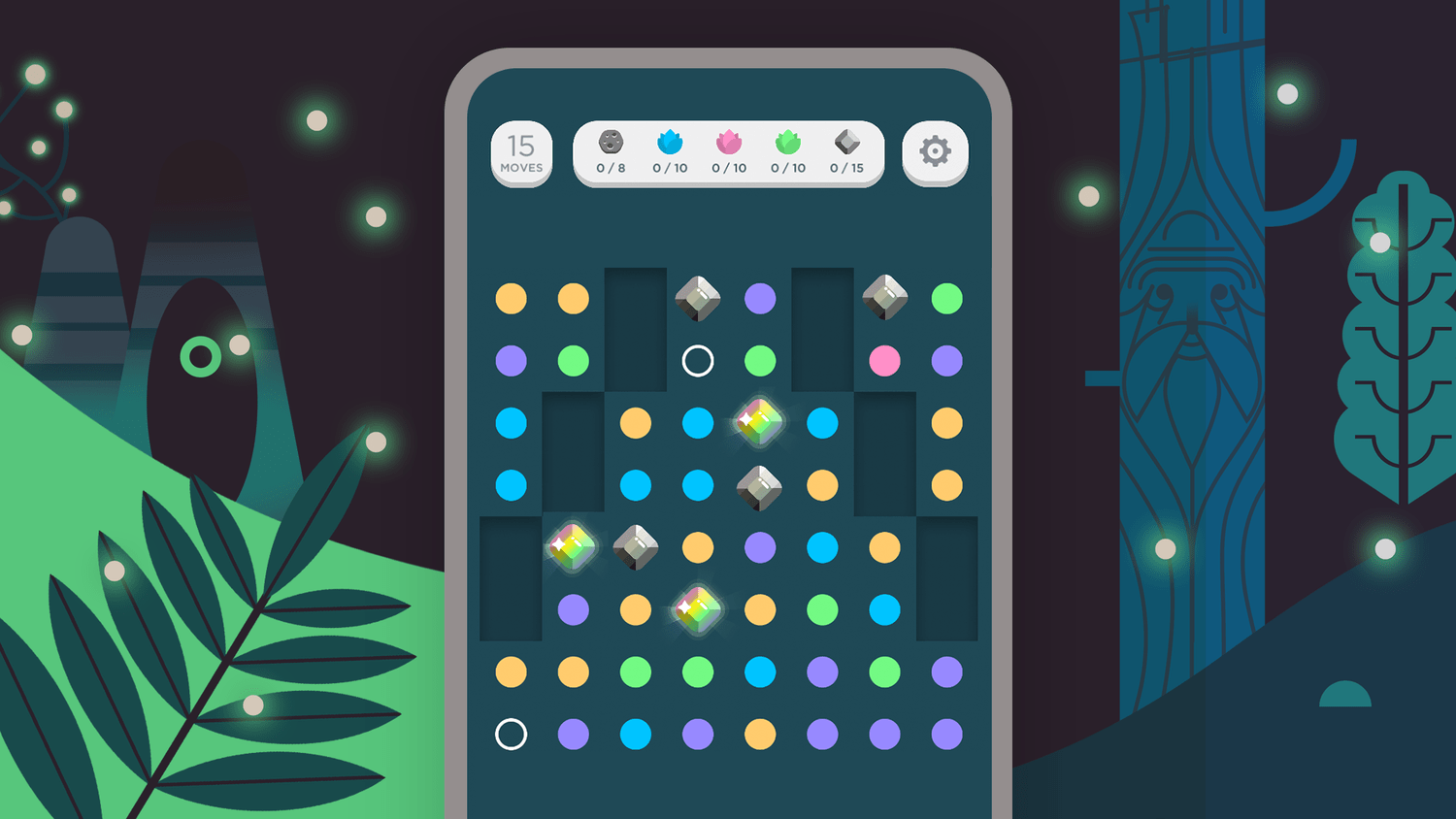 Two Dots Game Visuals