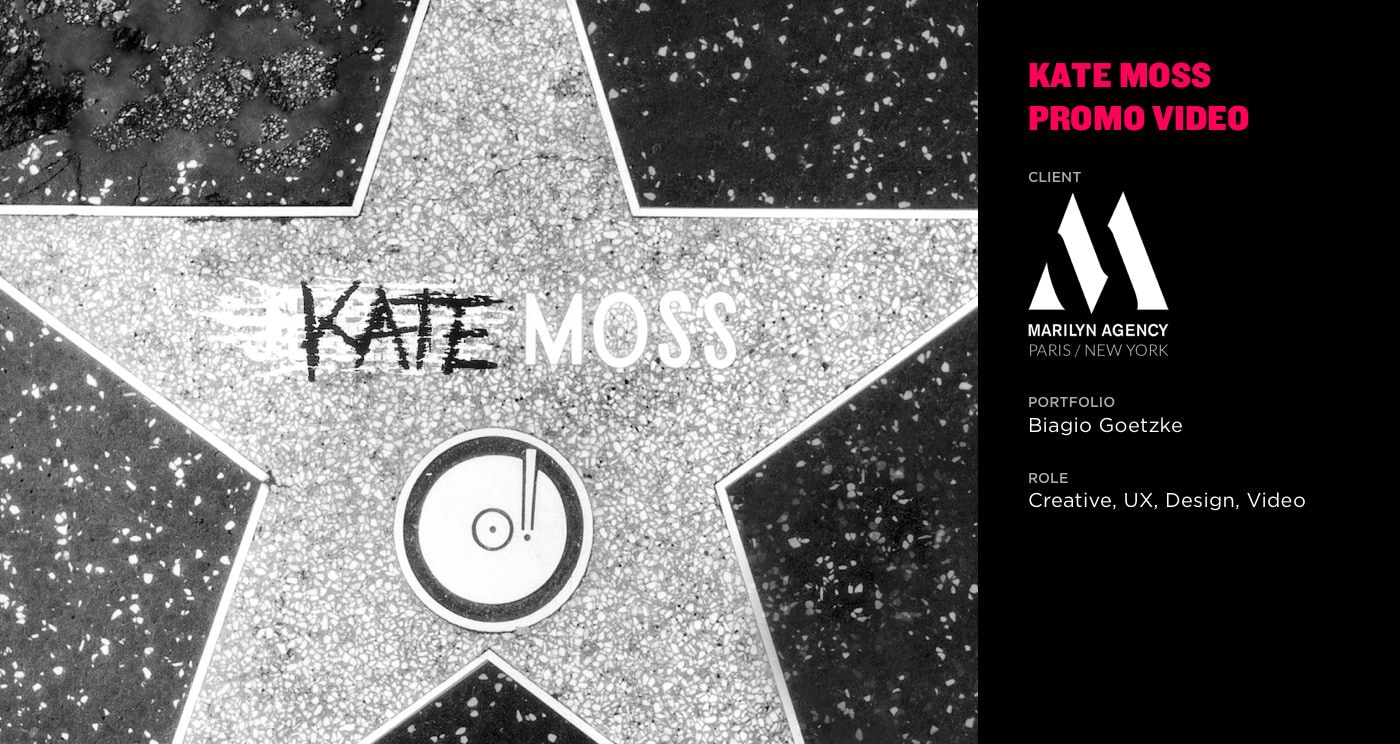 Kate Moss Promo Video