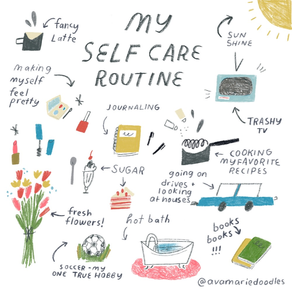 My Self Care Routine
