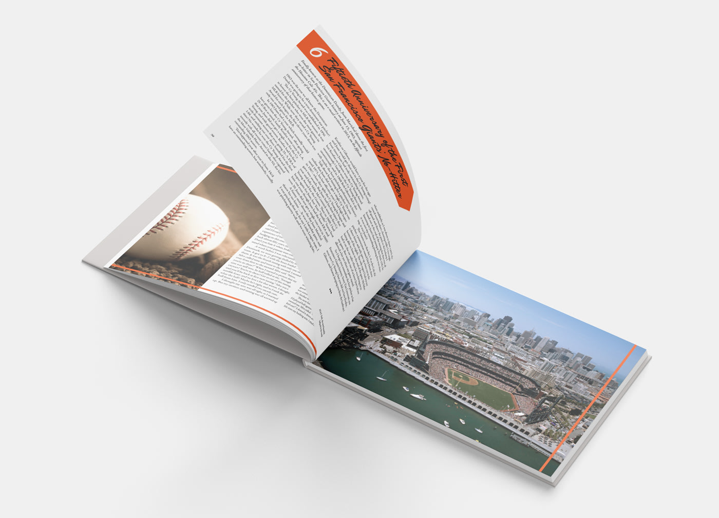 Coffee Table Book for San Francisco Giants
