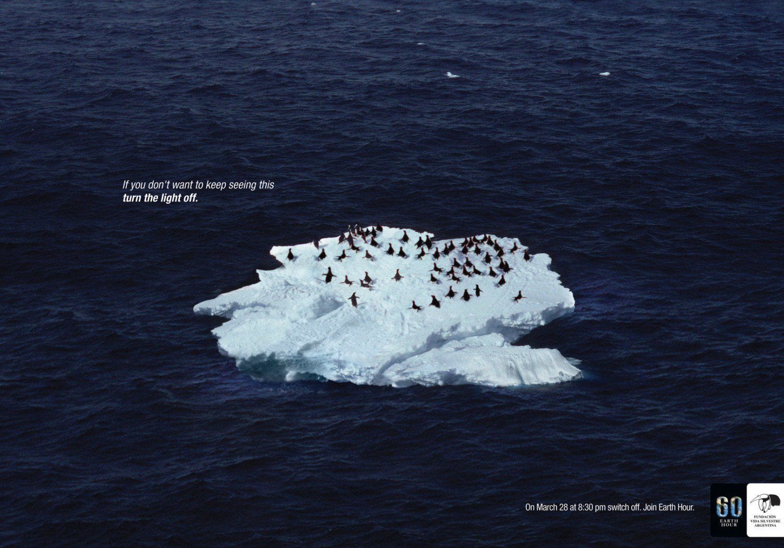 """WWF's 60 Earth Hour: """"Turn off the light"""""""