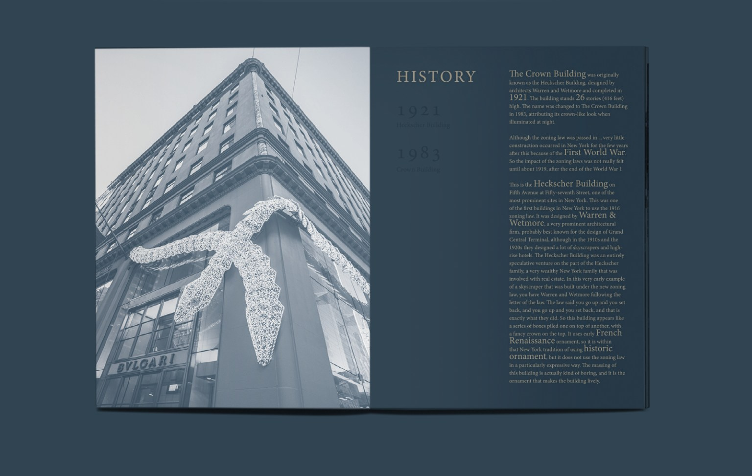 The Crown Building Book