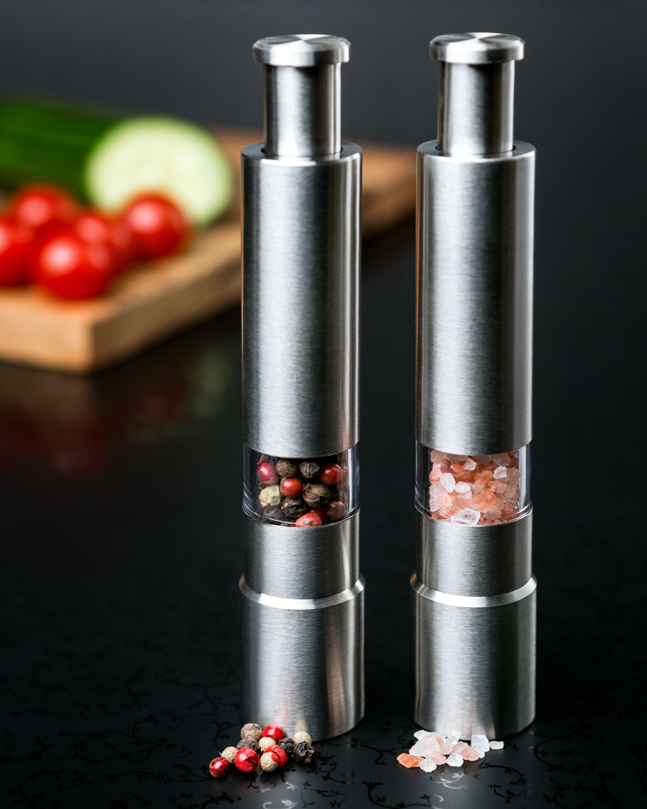 Salt & Pepper Grinders - photography