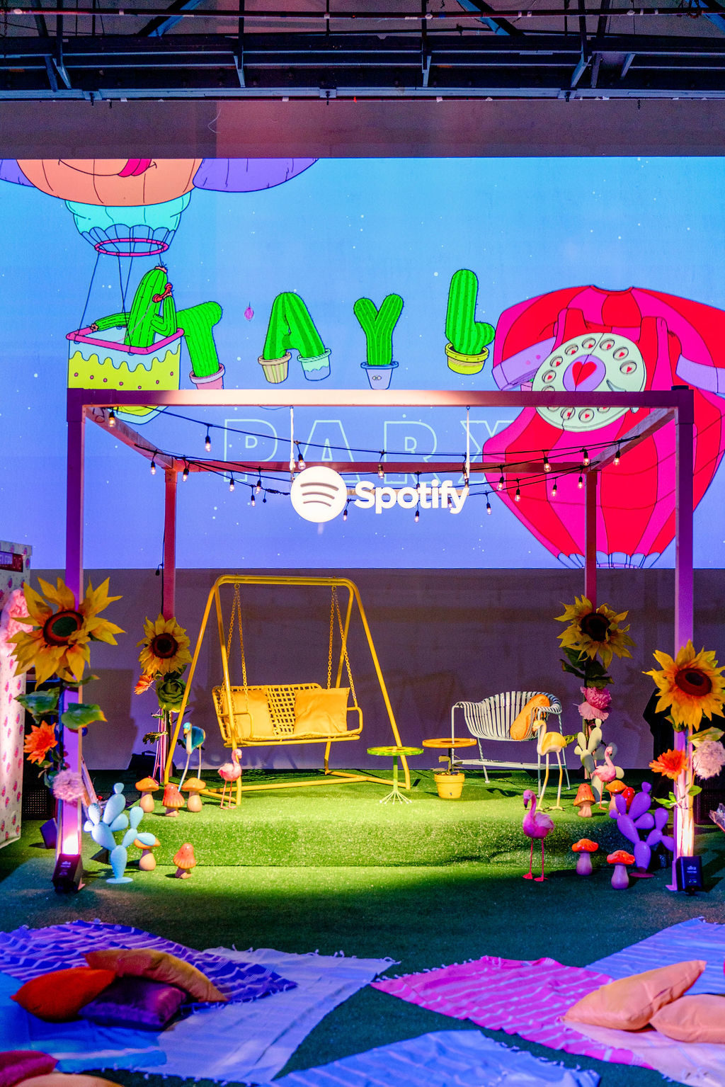 Animation for Spotify x Tayla Parx Event