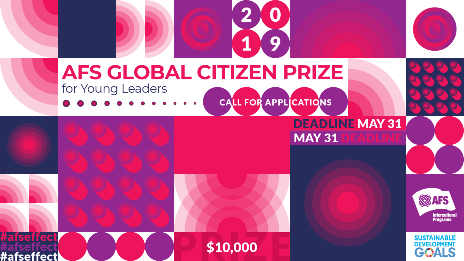 2019 AFS Global Citizen Award for Young Leaders