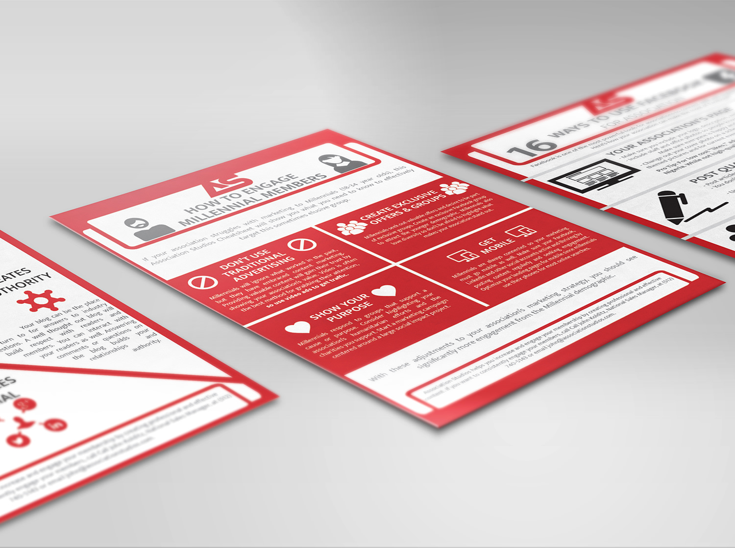 Print and Digital Infographic Design