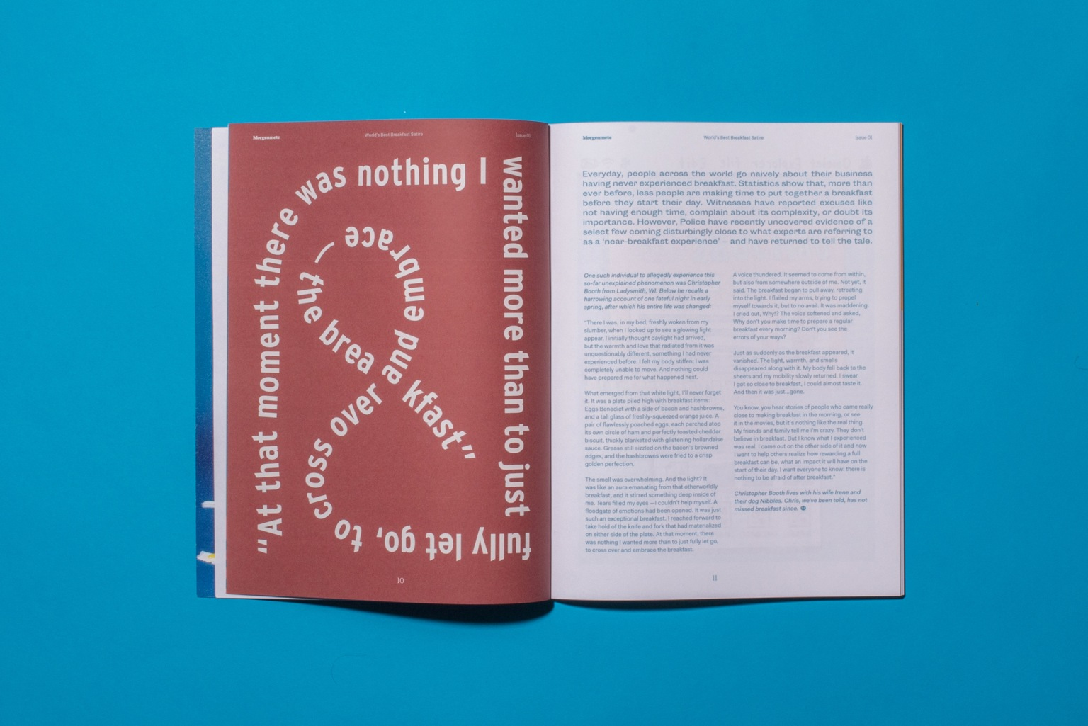 Morgenmete Issue 01