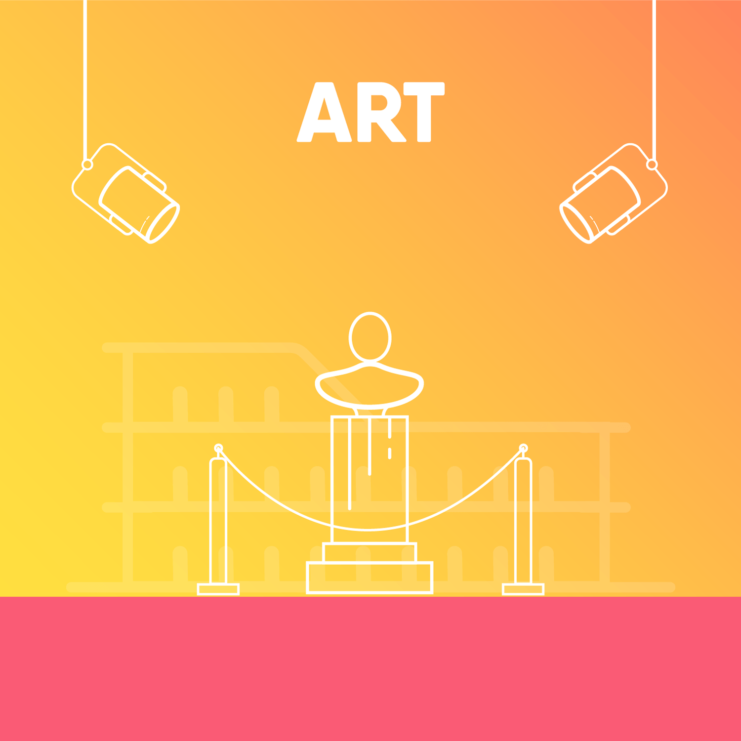 Illustrations for different categories