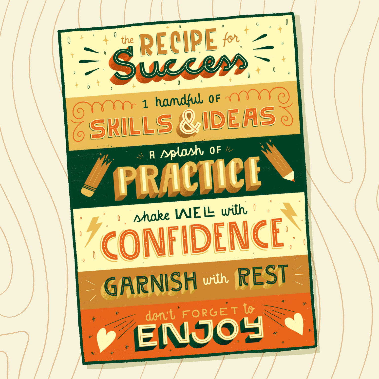the Recipe for Success