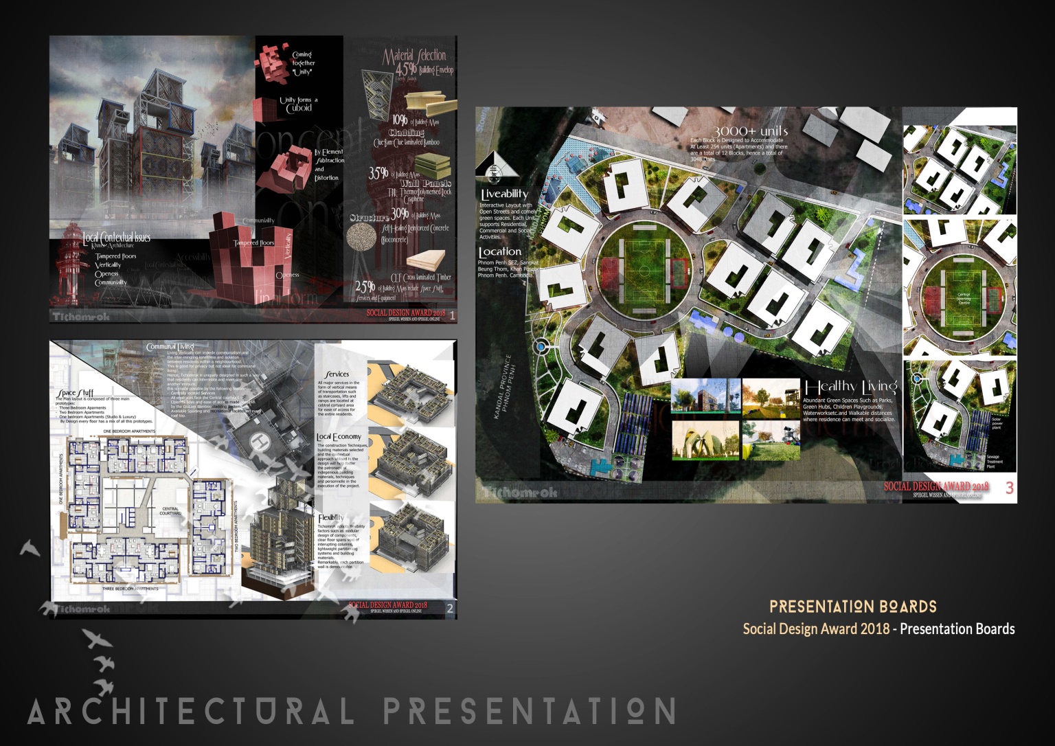 Social Design Award 2018 Presentation Boards